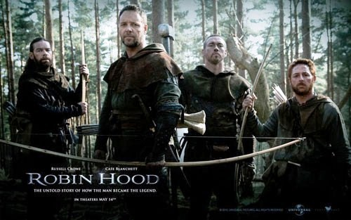 Poster of Robin Hood, including Alan Doyle