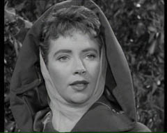 Bernadette O'Farrell as Maid Marian in The Adventures of Robin Hood
