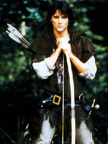 Michael Praed was Robin Hood in Robin of Sherwood's first two series.
