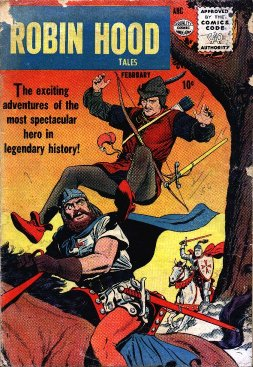The first issue of Robin Hood Tales, published by Quality. One of the two issues I don't own.